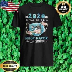2020 The year I got to be a Mask maker Quilt T-Shirt
