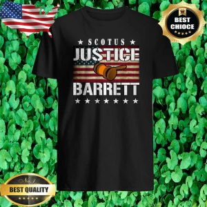 Amy Coney Barrett for Supreme Court Justice American Flag Shirt