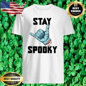 Halloween Stay Spooky Zombie Cool Hand T-Shirt